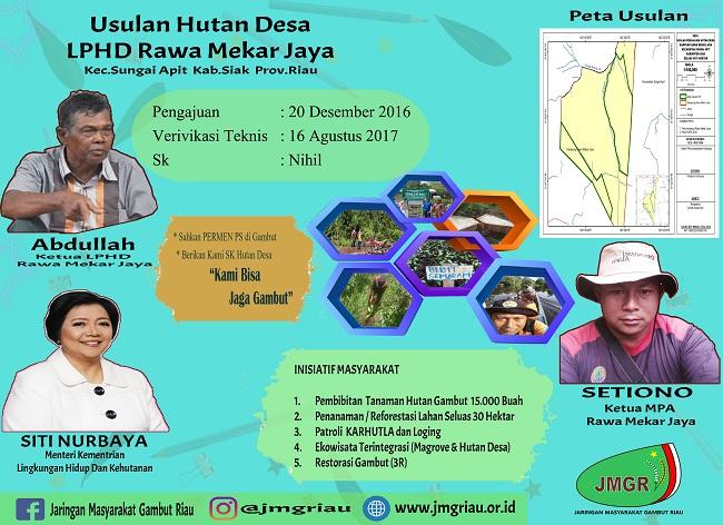 Organisasi Lingkungan Tolak Presiden Jokowi ke Riau Tanpa SK PS Gambut