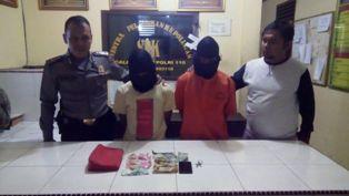 Polisi di Pelalawan Cokok Dua Terduga Pelaku Curas