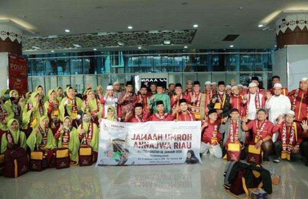 Sebanyak 24 Orang Pemenang MTQ, Diberangkatkan Pemprov Riau Umrah