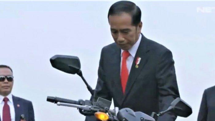 Pembukaan Asian Games 2018 Diawali Aksi Presiden Jokowi Naik Motor