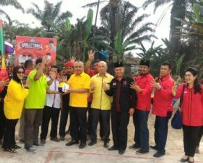 Kunjungi Kandis, Cagub Andi Rachman Ajak Warga Sukseskan Pilkada Serentak 2018