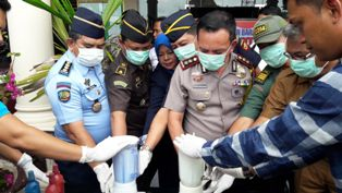 500 Gram Sabu-sabu Dimusnahkan di Polres Inhil