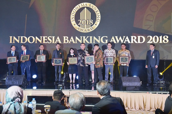 Bank Riau Kepri Raih The Best Bank in Digital Services 2018