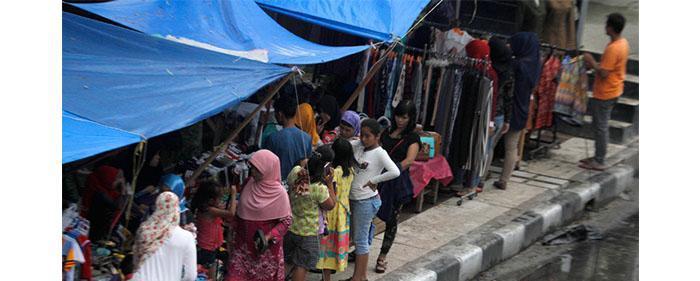 Pedagang Merasa Teraniaya, Sudah 6 Bulan di TPS Tak Ada Kejelasan Pembangunan Plaza Sukaramai