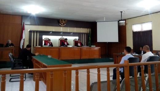 Terdakwa Korupsi Gedung Fisipol UR Divonis 2 Tahun Penjara