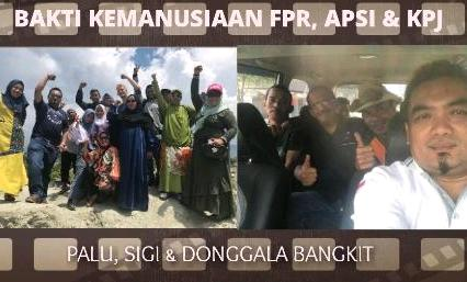 KPJ dan Salem Debu Manggung Bareng Hibur Korban Tsunami Sigi
