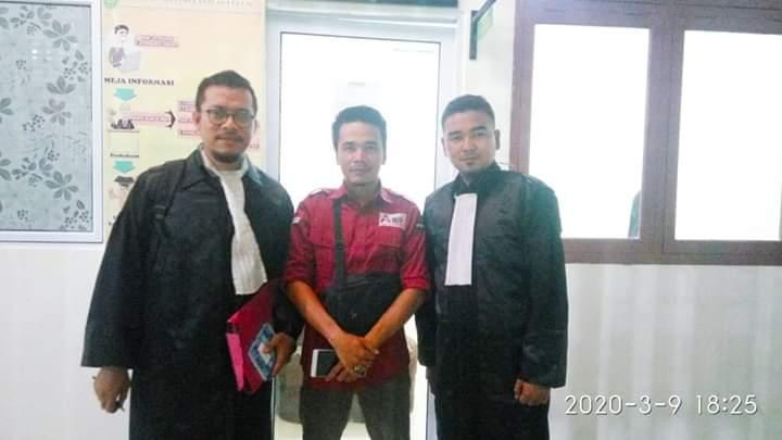 Sidang Perkara UU ITE di PN Tembilahan, Pembacaan Duplik atas Replik JPU