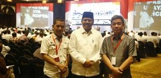 Hadiri Rakornas di Jakarta, Alfedri: Untuk Tingkatkan Kesiagaan Hadapi Pilkada 2018