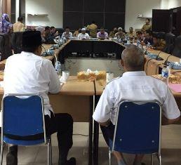 Dalami Persiapan Pemberangkatan JCH, Komisi III DPRD Inhil RDP dengan Sejumlah Mitra Kerja