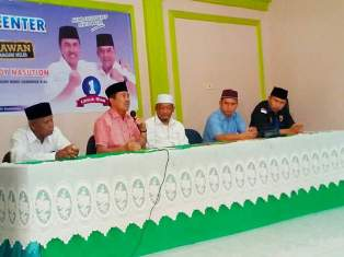 Berkampanye di Inhil, Cagub Syamsuar Sebut Tanaman Padi Lebih Menguntungkan dari Kelapa Sawit