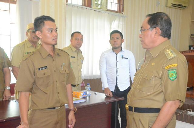 Wardan Tinjau Peserta Seleksi Tenaga Pendamping Desa Profesional
