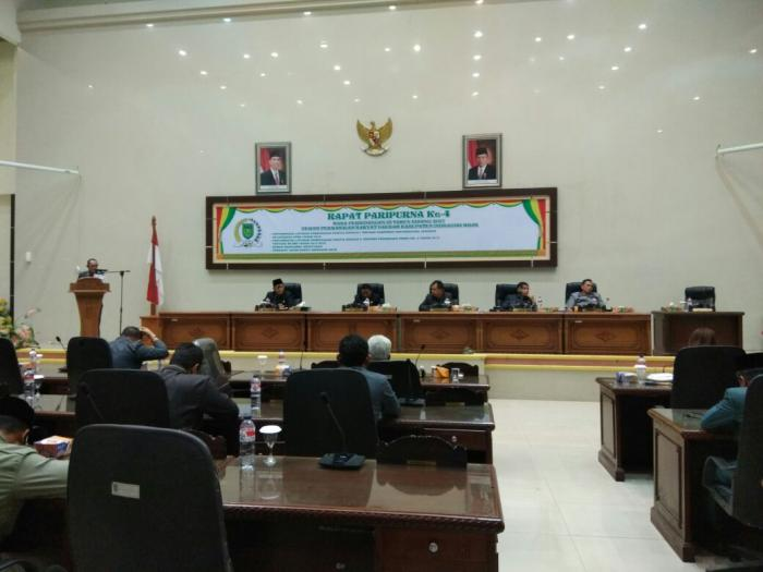 Paripurna Pengesahan Perubahan RPJMD Tahun 2013-2018