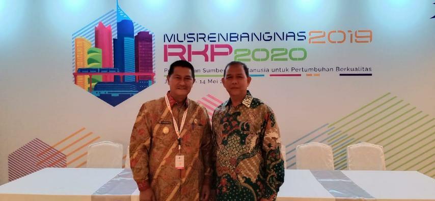 Wabup SU Hadiri Musrenbangnas di Jakarta