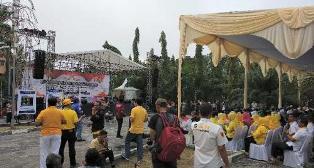 Digelar Deklarasi Kampanye Damai Pilgub Riau 2018, Begini Suasananya