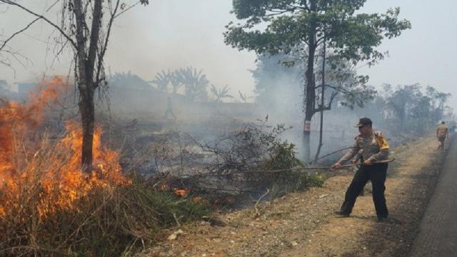 Dalam Kasus Karhutla di Riau, Polda Tetapkan 31 Orang dan Korporasi Jadi Tersangka