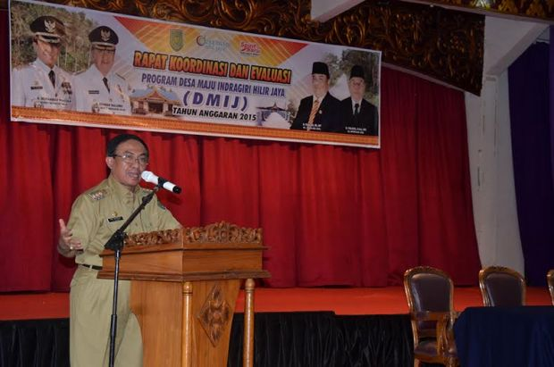 Bupati HM Wardan Tegaskan Kades Benahi Pengelolaan DMIJ