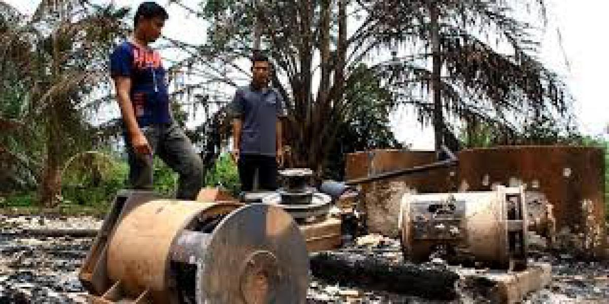Sepekan Sudah Warga RBS Rohul Hidup Tanpa Aliran Listrik