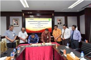 Giliran Pemkab Kepulauan Meranti Jalin Kerjasama Non Tunai Bersama Bank Riau Kepri