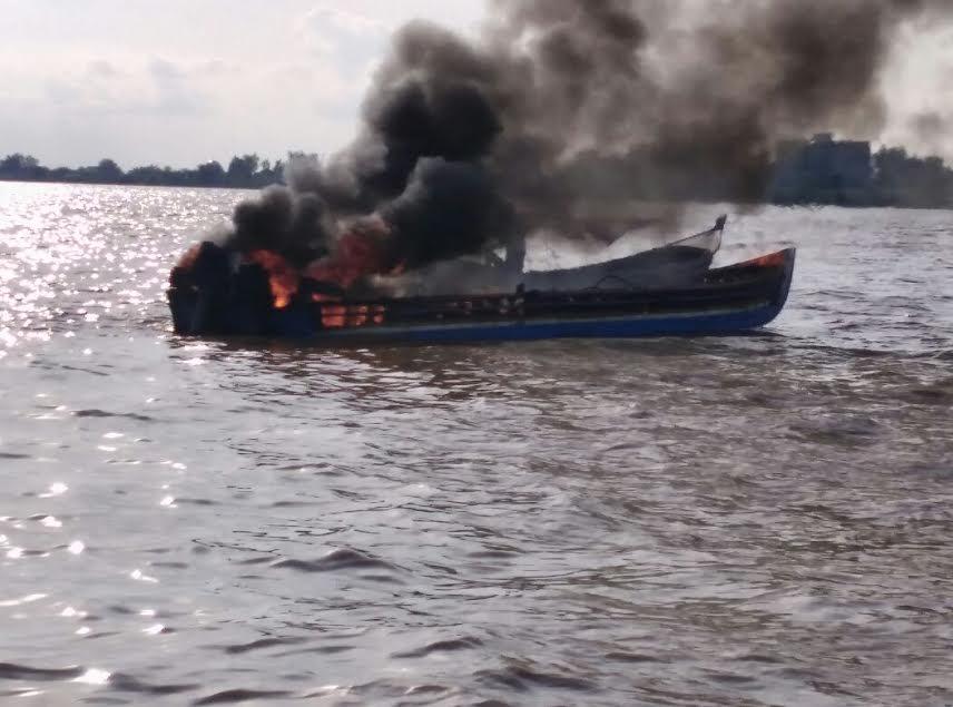 Ini Penyebab Meledaknya Speedboat di Perairan Indragiri