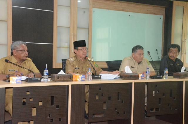 Wardan Pimpinan Rapat Persiapan MTQ Tingkat Provinsi Riau