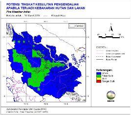 Riau Tetap sebagai Pemuncak Jumlah Titik Panas di Pulau Sumatera
