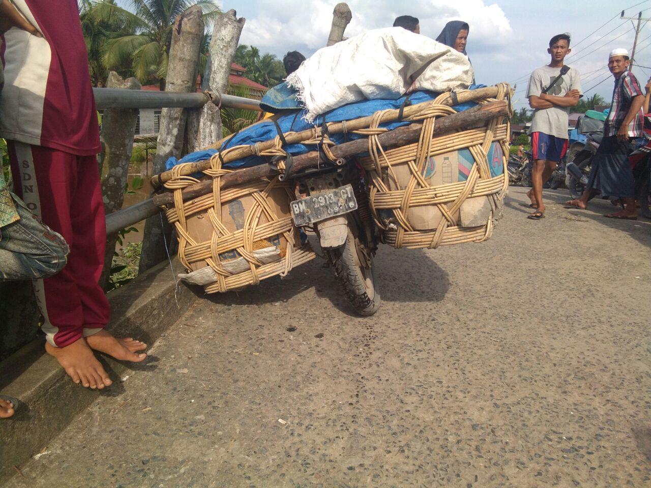 Warga Pulau Kijang Tewas Setelah Tertimpa Motor Bermuatan Jeruk