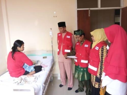 Bantuan untuk Bayi Penderita Infeksi Paru-Paru di Rawat RSUD Tembilahan