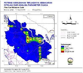 Alhamdulillah, Jumlah Hotspot yang Terpantau di Riau Tersisa Dua Titik