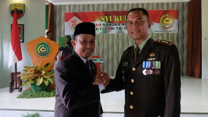 Dani Berharap TNI Makin Tangguh Bersama Masyarakat