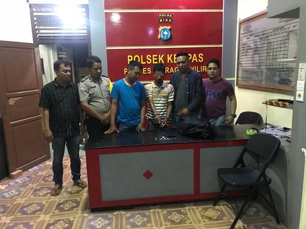 Warga Kempas Jaya Inhil Diciduk Polisi, Ini Penyebabnya