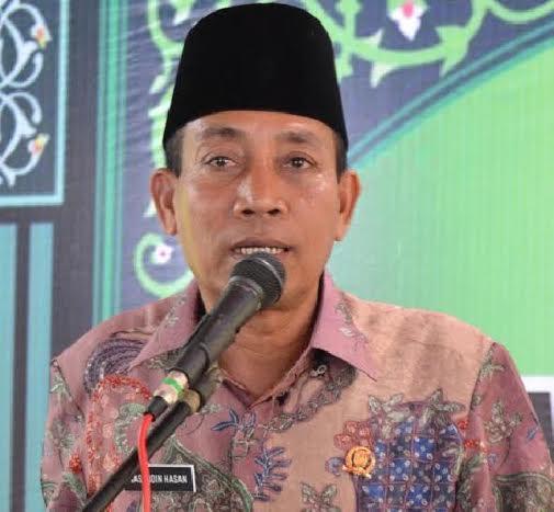Ketua DPRD Rohil Nasruddin Hasan Dukung Pemkab Bangun Kereta Gantung