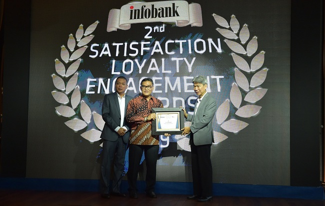 Bank Riau Kepri Sabet 3 Penghargaan Pada Ajang Infobank 2nd Satisfaction Loyalty Engagement Award 2019