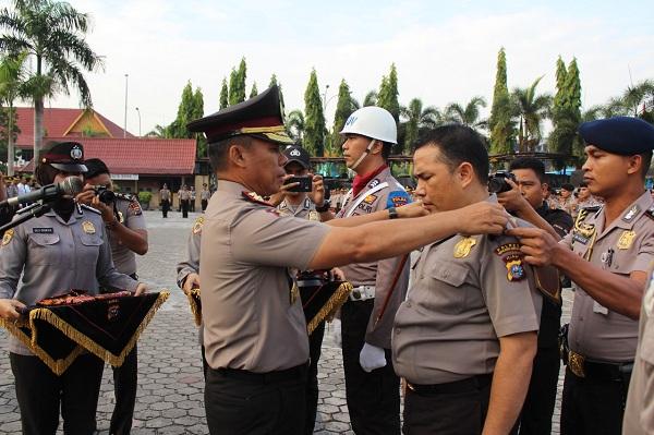 Tegas, Polda Riau Copot 11 Personil Indispliner