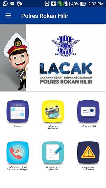 Polres Rohil Luncurkan Aplikasi Pintar Pelayanan Publik