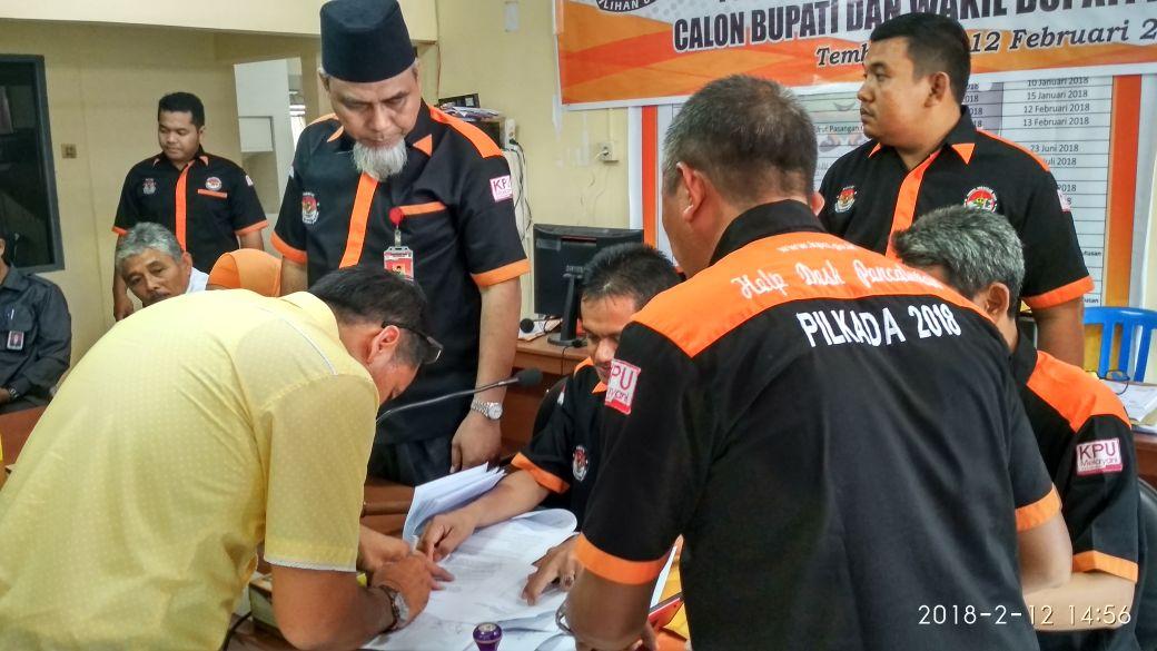 Sah! KPU Tetapkan Paslon Ikut Bertarung di Pilkada Inhil 2018