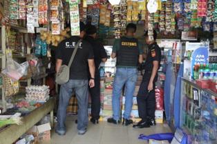 Operasi Pasar Bea Cukai Tembilahan Amankan 160 Ribu Batang Rokok Ilegal