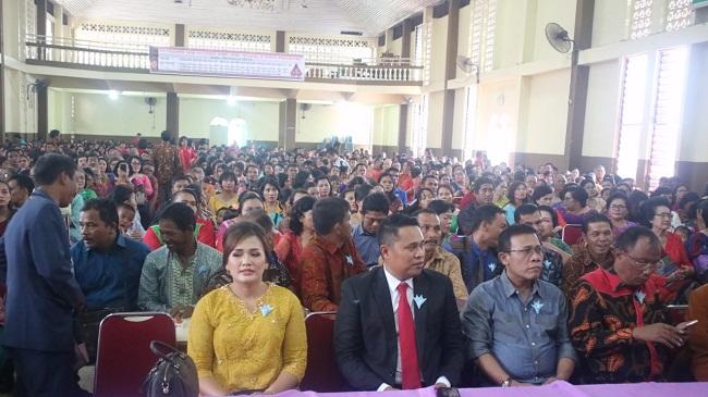Inisiasi Pesta Adat Batak, Kordias Bangga Ribuan Marga dan Boru Pasaribu di Pekanbaru Kompak