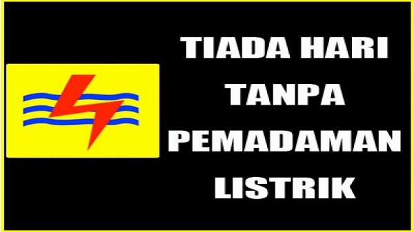 PLN Rayon Inhil Tak Berperikemanusian Matikan Aliran Lsitrik 6 Jam Setiap Hari
