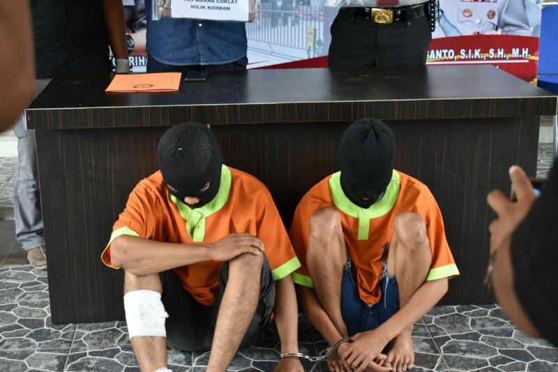 Pelaku Jambret di Pekanbaru Dibekuk Aparat, Korbanya Dilarikan ke ICU
