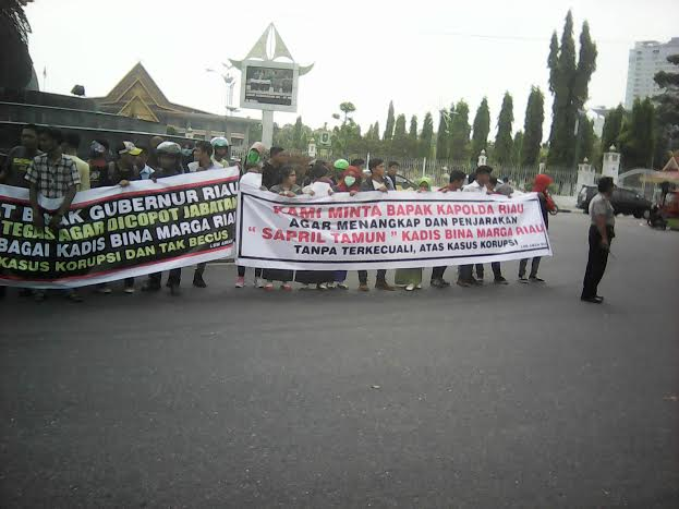 Lagi, Masyarakat Riau Laporkan Syafril Tamun ke Kejati Diduga Korupsi