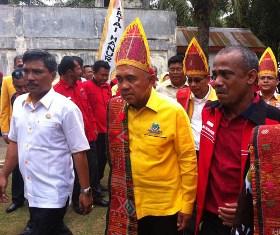 Berkampanye di Rohil, Andi Rachman Ungkap Alasannya Pilih Suyatno sebagai Cawagub