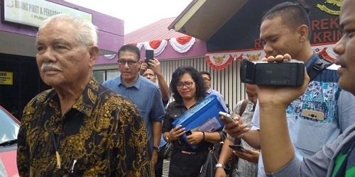 Polda Riau Lamban Tangani PT Hutahean Dalam Kasus Garap Lahan Ilegal