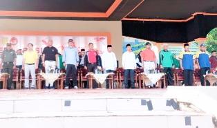 Deklarasi Kampanye Damai, Pj Bupati Inhil Minta Paslon Ciptakan Situasi Kondusif