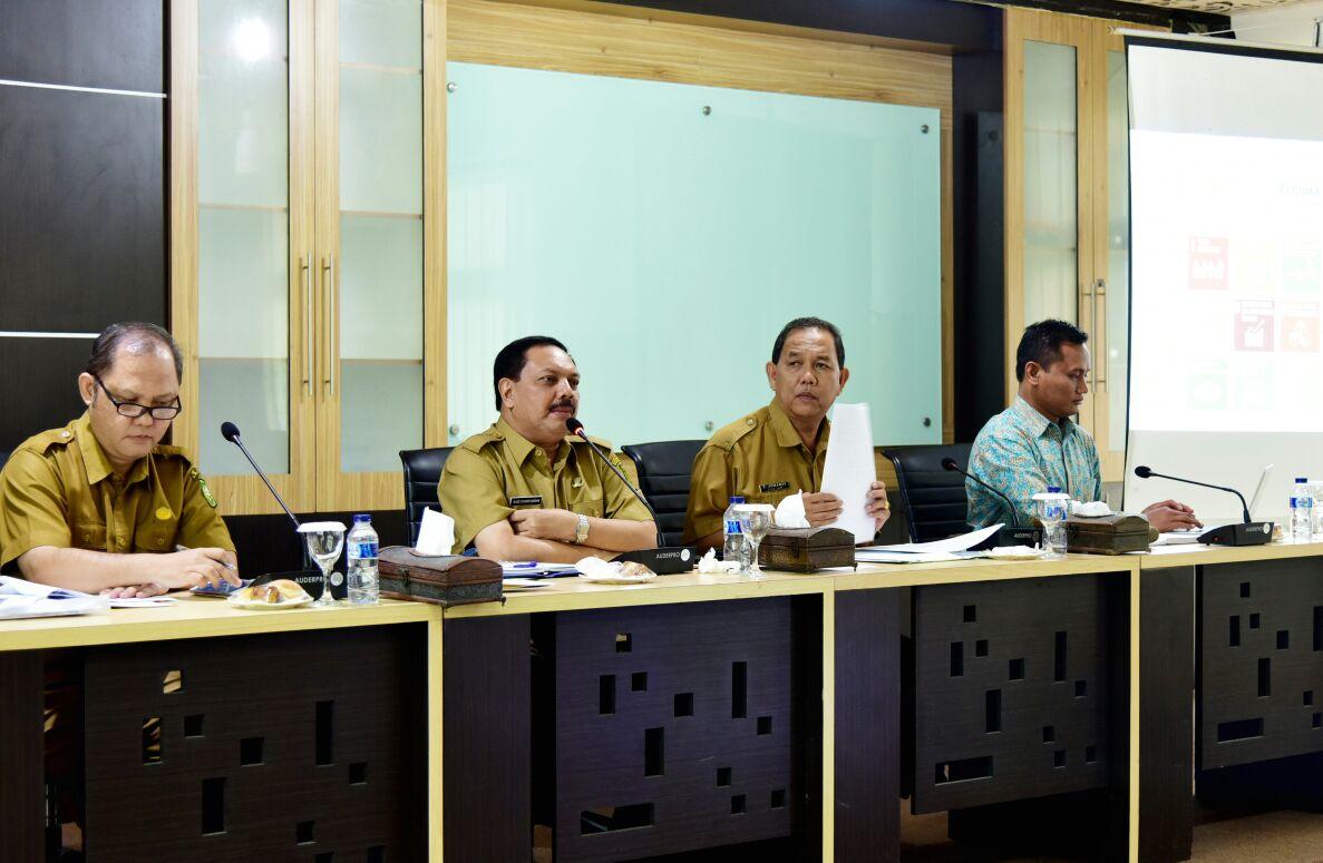 Sekda Said Syarifuddin Pimpin Pertemuan SDGs dan UNDP