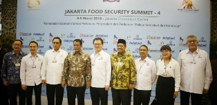 Terbang ke Jakarta, Plt Bupati Siak Ikuti Kegiatan Jakarta Food Security Summit ke-4