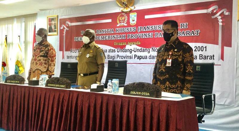 Diskusi RUU Otsus, Kemendagri ajak Goro Bangun Papua dan Papua Barat