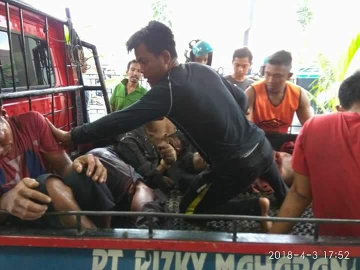 10 Orang Korban Akibat Dentuman Gas Meledak di Inhil