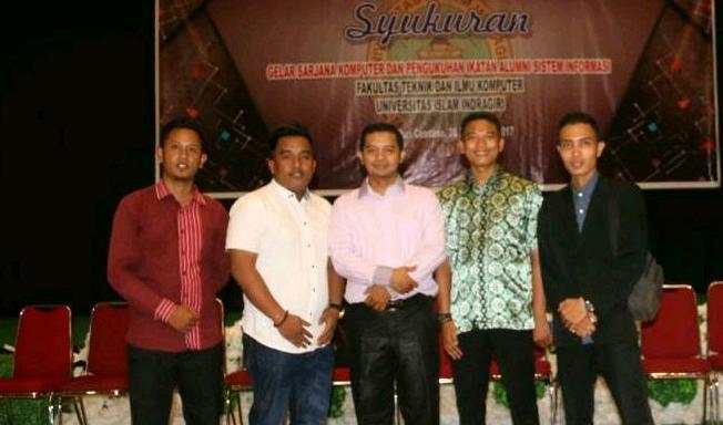 Herman Terpilih Pimpin IKASI Alumni Mahasiswa FTIK UNISI