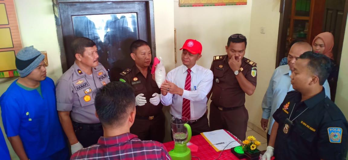 Polresta Pekanbaru Musnahkan 1 Kg Sabu 500 Butir Ekstasi