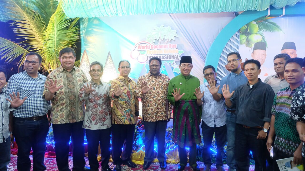 Dinner di Kediaman, Wardan Jamu Delegasi International Coconut Exhibition 2017